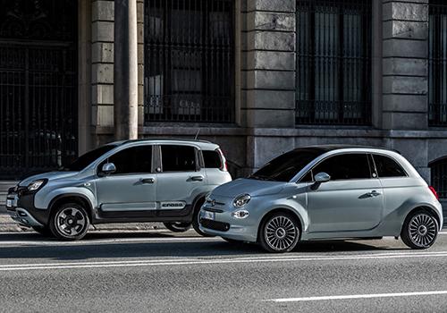 Fiat 500 y Panda vehículos euro 6D