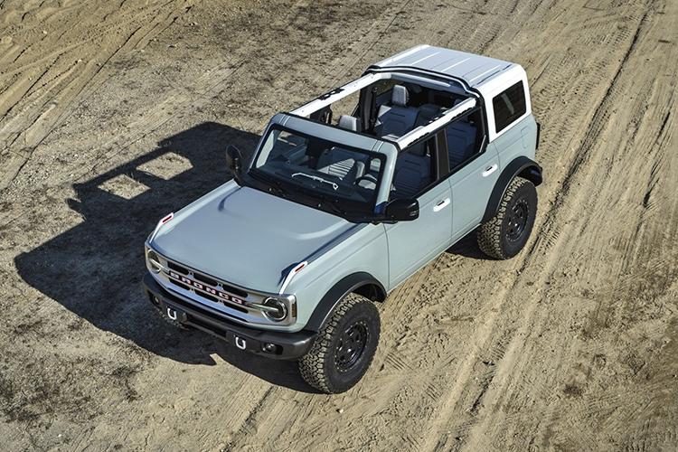 Ford Bronco 2021 2 y 4 puertas