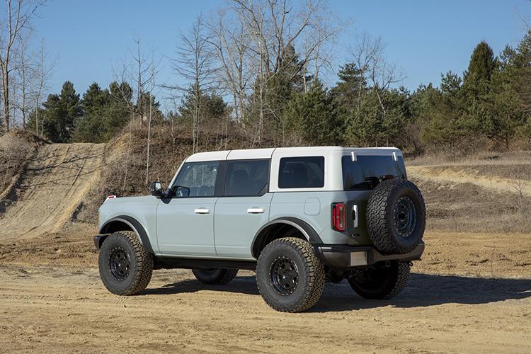 Ford Bronco 2021 carrocería