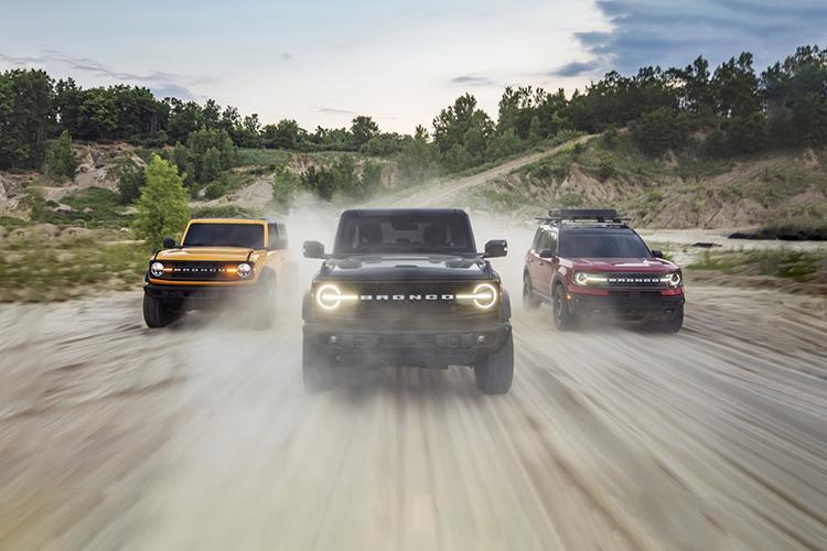 Ford Bronco 2021 opciones de motor