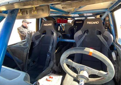 Ford Bronco R prototipo asientos recaro