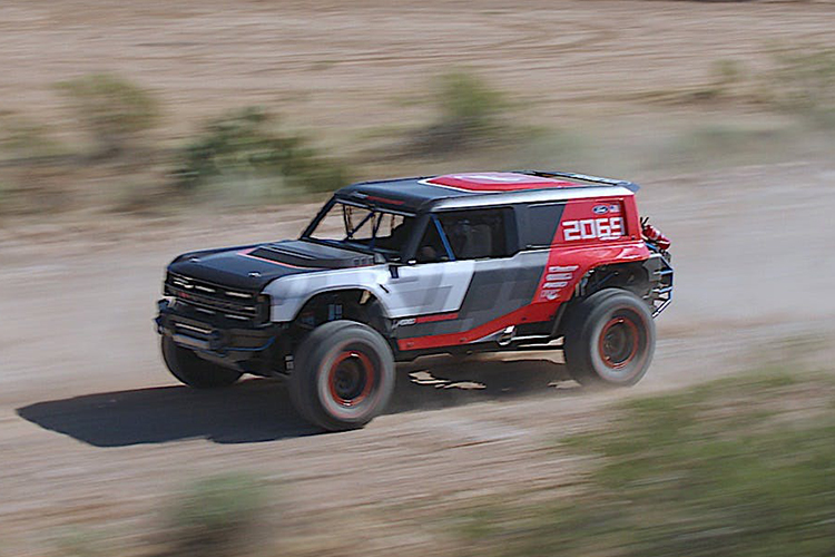 Ford Bronco R prototipo nuevos modelos