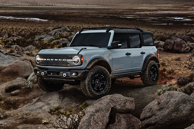 Ford Bronco Sport 2021 equipamiento