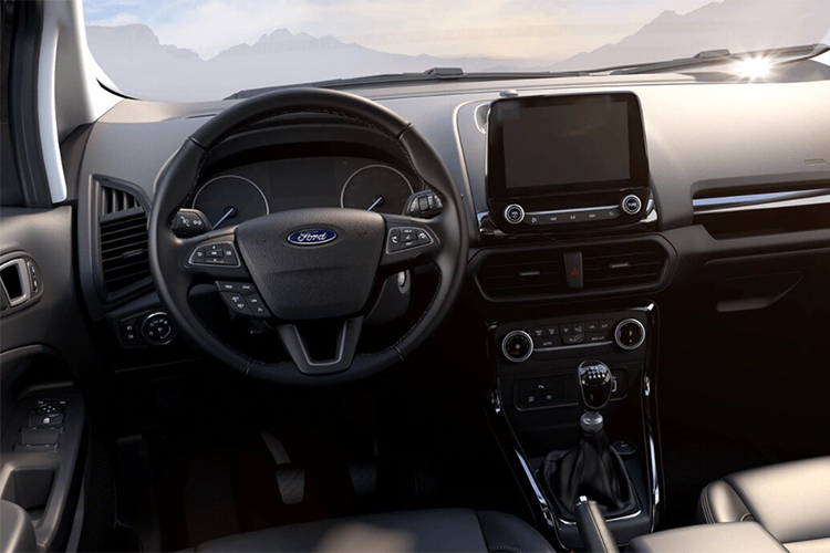 Ford EcoSport Active interior