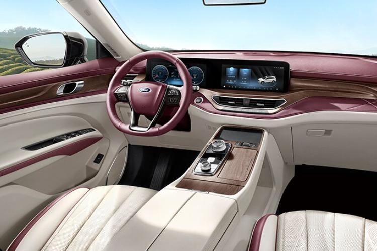 Ford Equator SUV diseñada para China diseño interior
