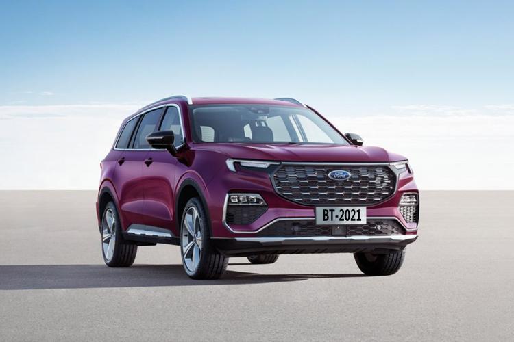 Ford Equator SUV diseñada para China equipamiento diseño carrocería motor