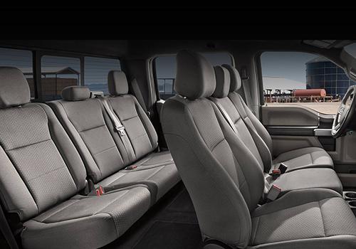 Ford F-150 2021 asientos modelos