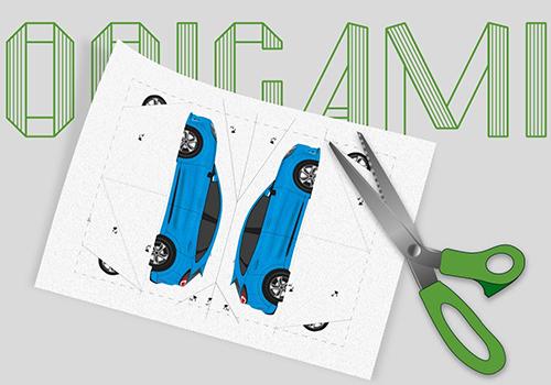 Ford Family Fun nuevo sitio web Origami