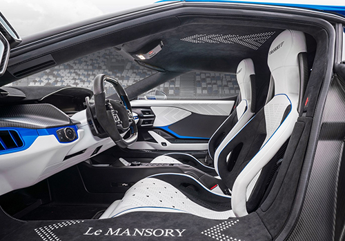 Ford GT Le Mansory asientos
