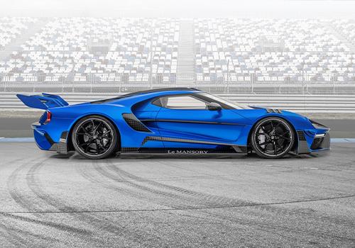 Ford GT Le Mansory tecnología