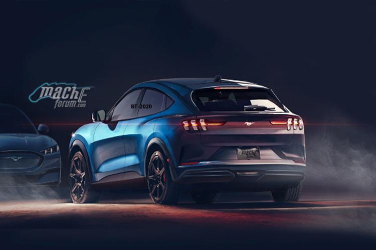 Ford Mustang Mach-E con nueva tecnologia