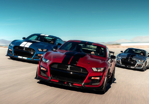 Ford Mustang Shelby GT500 2020 motor