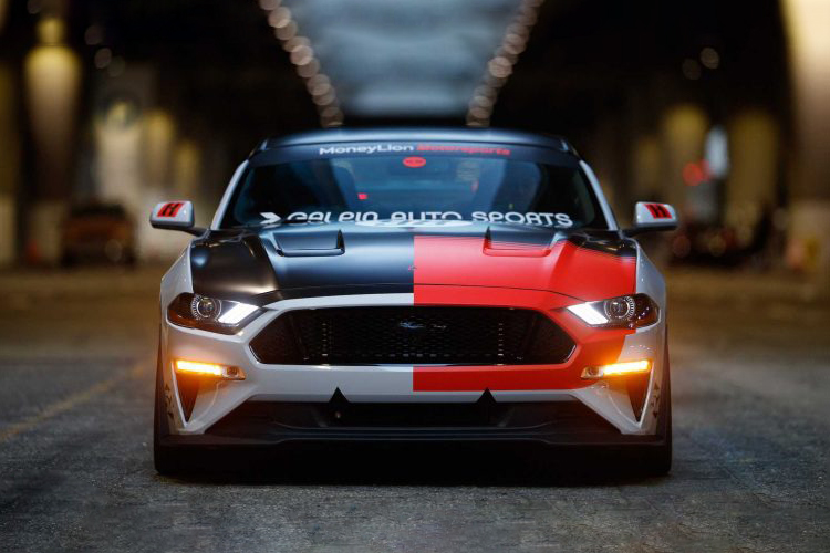 Ford Mustang modificado tecnologia aerodinamico