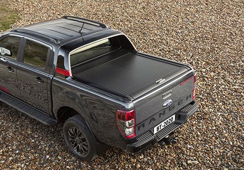 Ford Ranger Thunder Edition espacio en cajuela