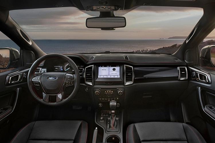 Ford Ranger Thunder Edition tecnologia asientos