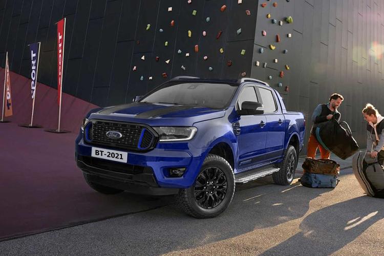 Ford Ranger Wolftrak y Stormtrak ediciones especiales carroceria carga