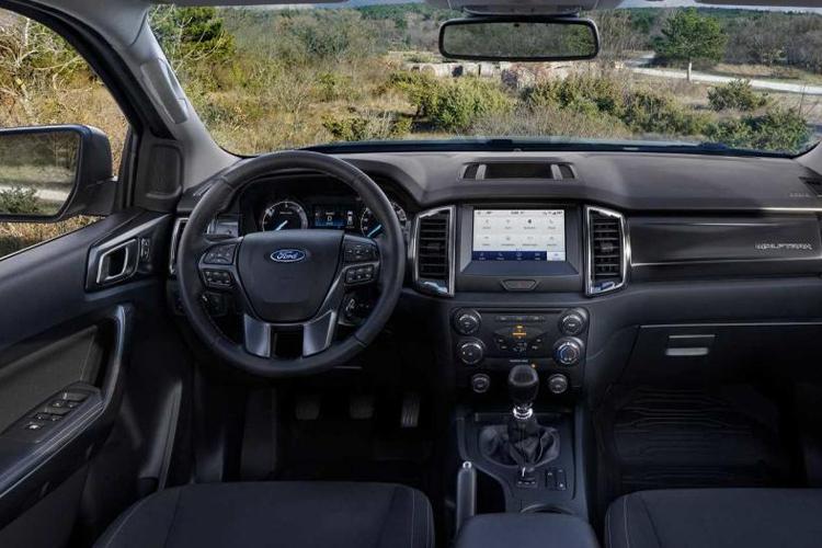 Ford Ranger Wolftrak y Stormtrak ediciones especiales sistema de infoentretenimiento