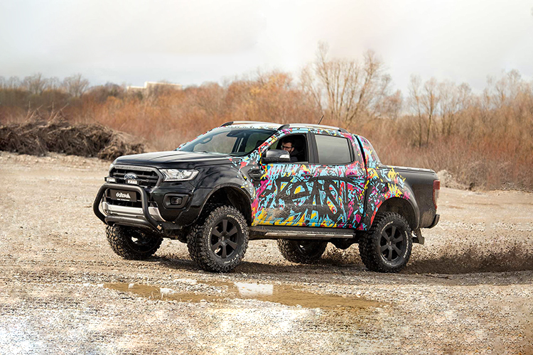 Ford Ranger delta4x4 diseño en carrocería
