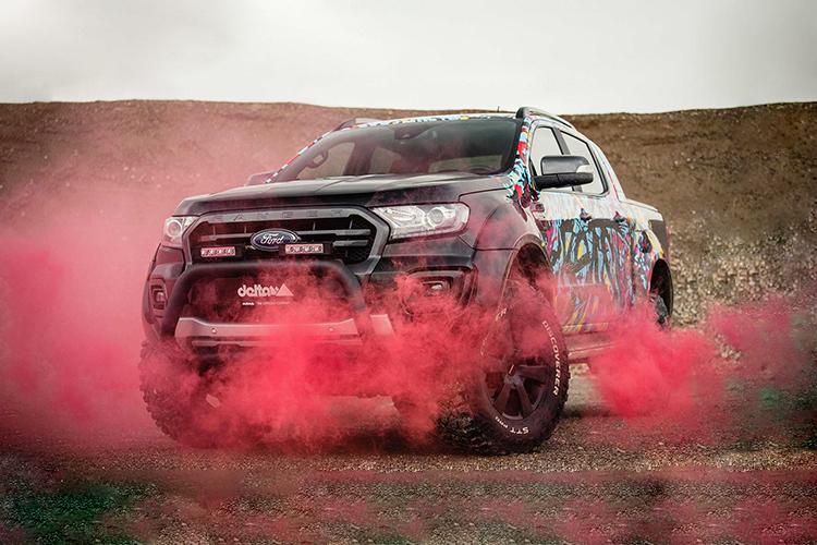 Ford Ranger delta4x4 pickup diseño y tecnología