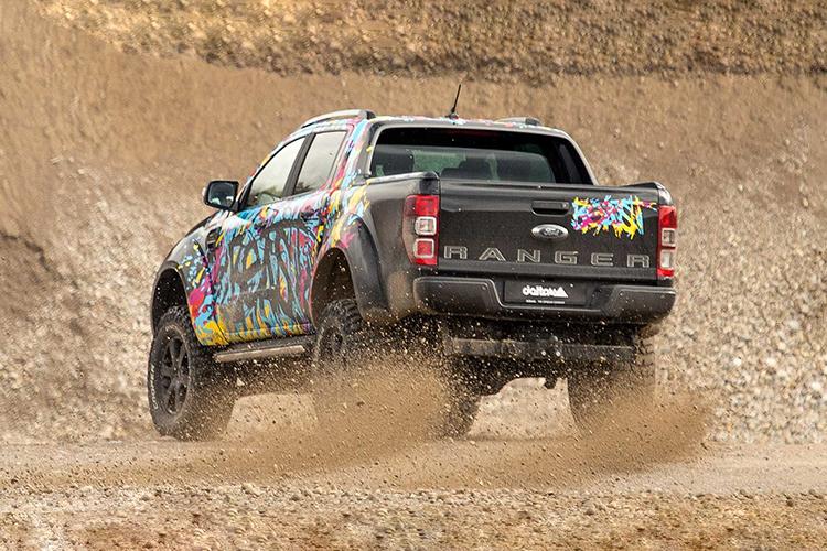 Ford Ranger delta4x4 pickup motor