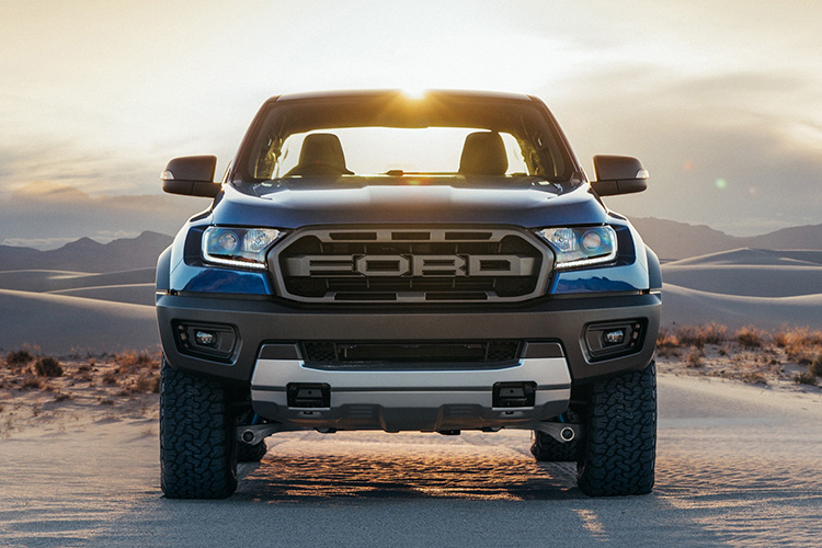 Ford Ranger tamaño