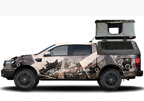 Ford Ranger tuneo de Ford performance
