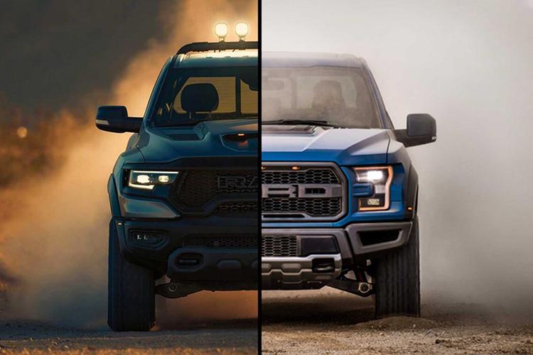 Ford Raptor nueva variante diseño RAM 1500 TRX