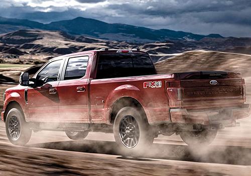 Ford Super Duty desempeño tecnología