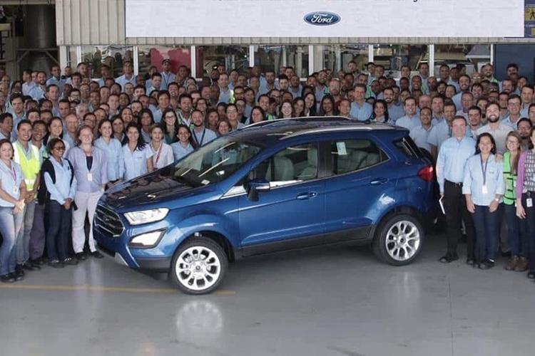 Ford cierra todas sus fábricas en Brasil dos con cierre inmediato