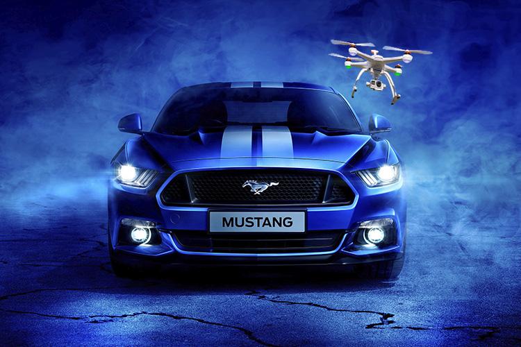 Ford drone en todos los vehiculos