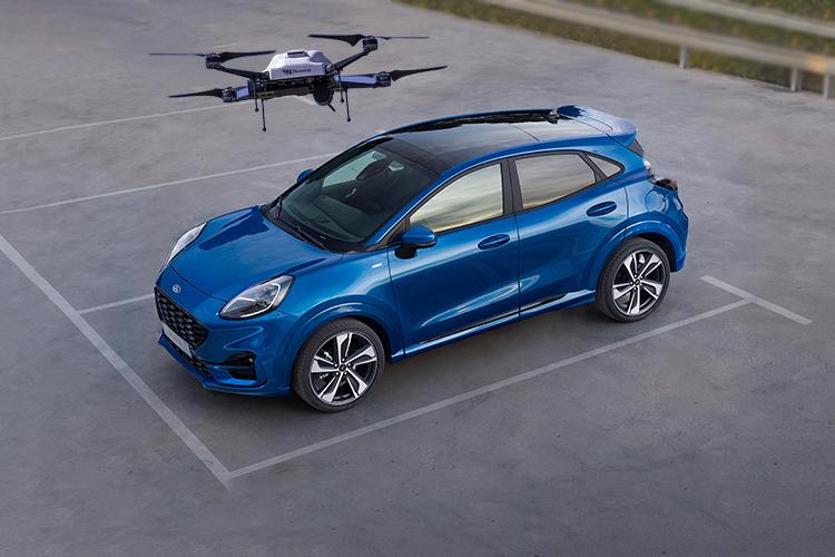 Ford vehiculos dron innovaciones tecnologia