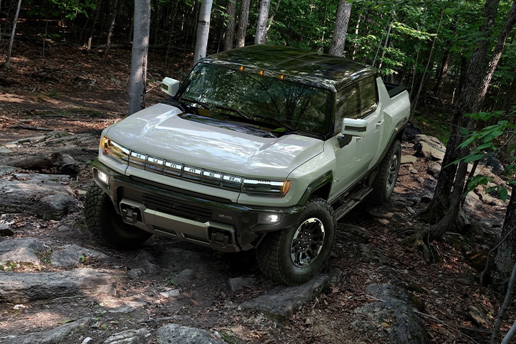 GMC Hummer EV off-road
