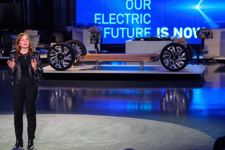 General Motors podría tener su propia marca para vehículos eléctricos diseño