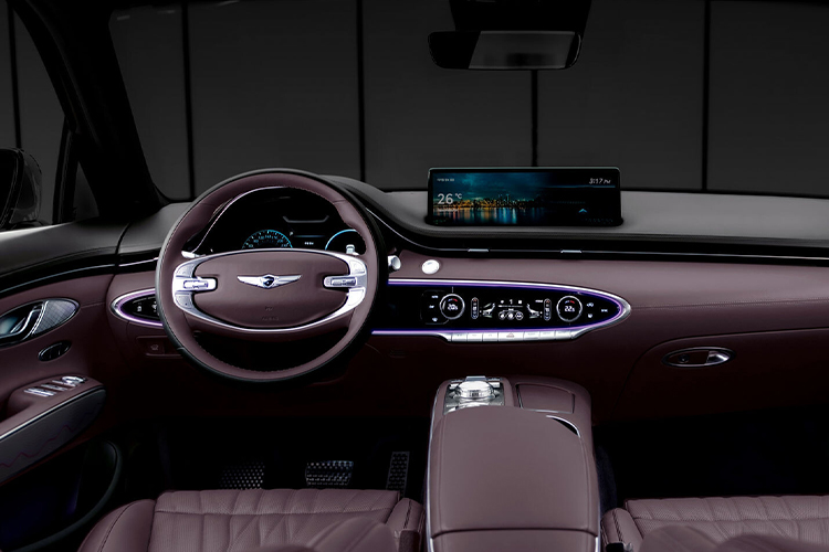 Genesis GV70 diseño interior