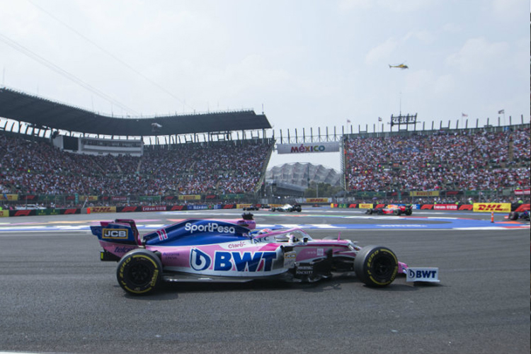 Gran Premio México 2020 cancelado seguridad