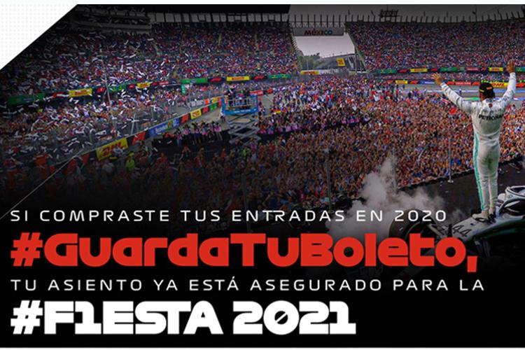 Gran Premio México 2020 cancelado