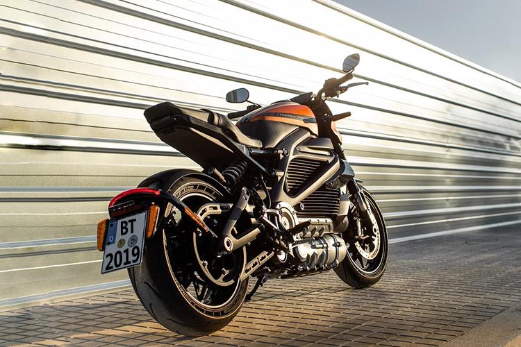 Harley-Davidson LiveWire autonomía