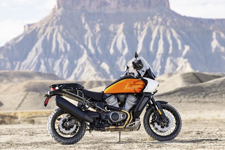 Harley-Davidson Pan America 1250 nuevos modelos tecnología potencia
