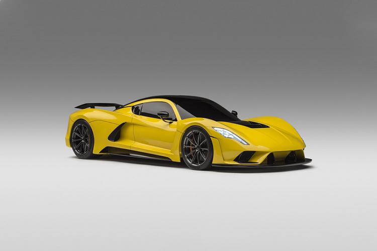 Hennessey Venom F5 hypercar diseño