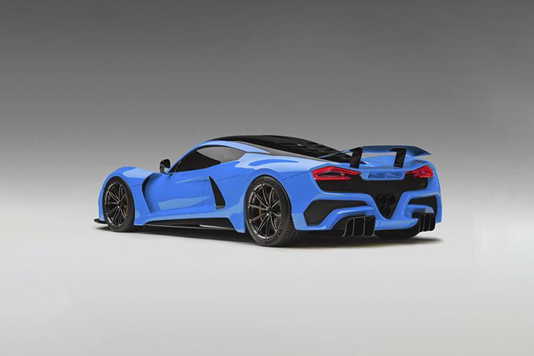 Hennessey Venom F5 hypercar tecnología