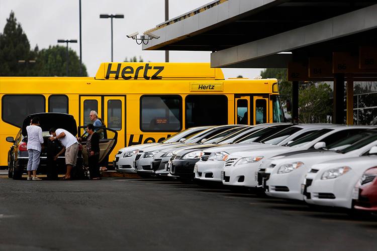 Hertz se declara en bancarrota renta de coches