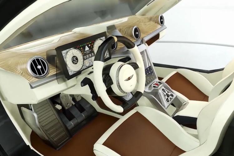 Hispano Suiza Carmen totalmente personalizadas interior acabados opcionales