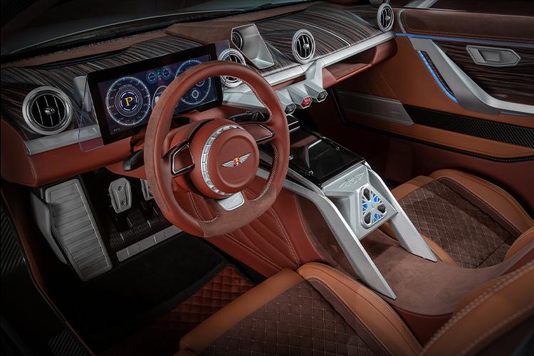 Hispano Suiza llega a México diseño interior vehiculos de lujo