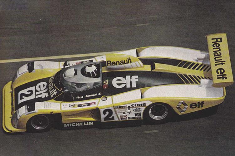 Historia del Alpine marca filial de Renault