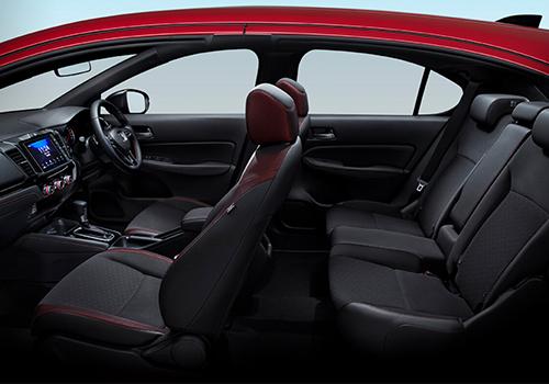 Honda City Hatchback, el nuevo reemplazo del Fit para Latinoamérica - interior asientos