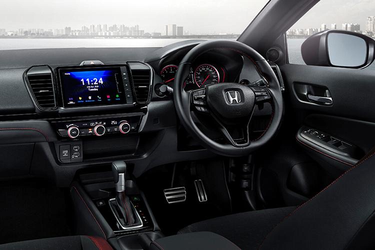 Honda City Hatchback, el nuevo reemplazo del Fit para Latinoamérica - sistema de infoentretenimiento