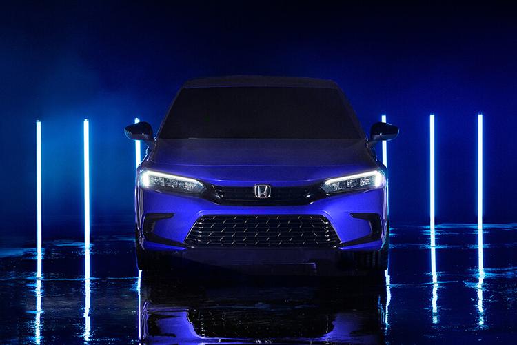 Honda Civic 2022 Prototype diseño