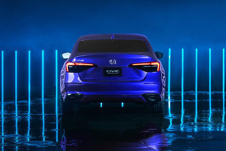 Honda Civic 2022 Prototype equipamiento