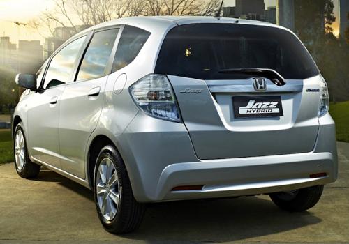 nueva generación eléctrificada carrocería Honda Jazz híbrido