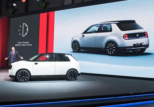 Honda e presentado en Auto Show de Ginebra 2017